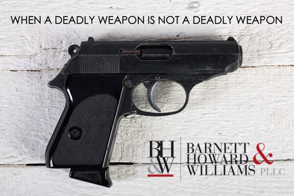 Deadly Weapon Law in Texas