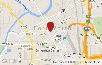 Fort Worth Criminal Defense and DWI Lawyer Map