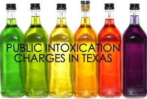 Public Intoxication Charges in Texas