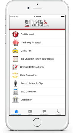App for Fort Worth Criminal Defense and DWI