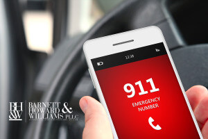 Interference with 911 Call Fort Worth