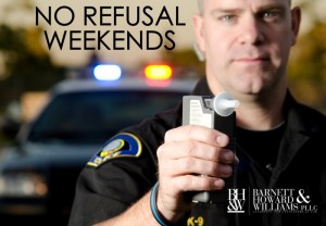 No Refusal Weekends for DWI in Fort Worth, Texas