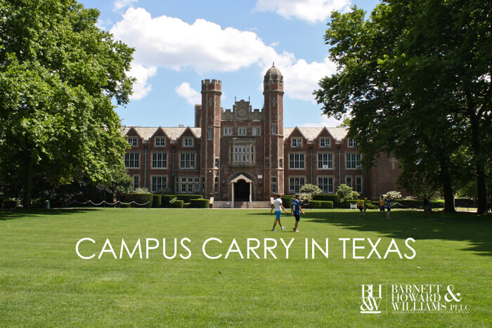 Texas Campus Carry