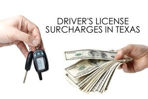 Texas DPS Drivers License Surcharges