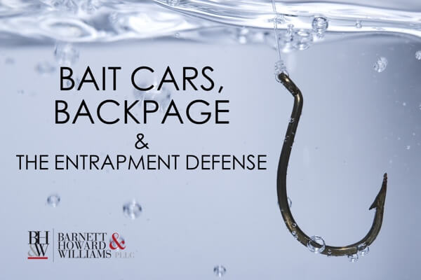 Bait Cars Backpage Entrapment Texas
