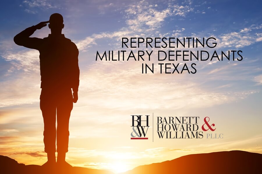Military Defendants in Texas Military Veteran Attorney