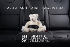 Car Seat Laws in Texas Seat Belt Regulations
