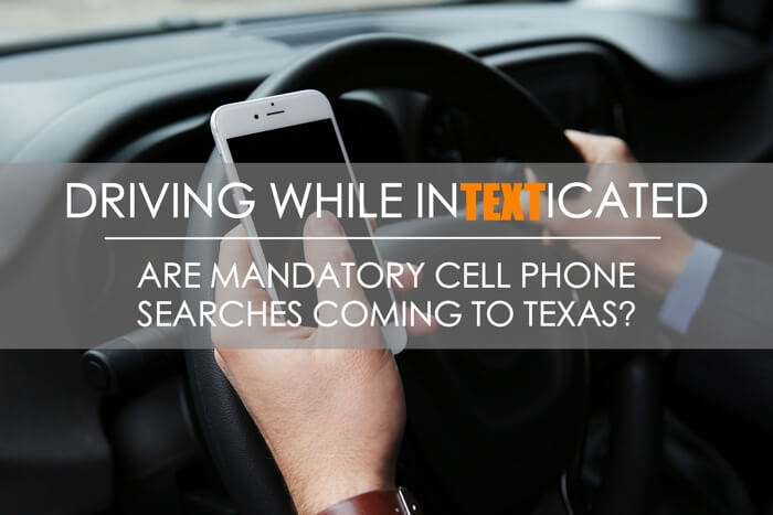 Texting While Driving Cell Phone Search
