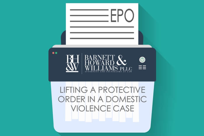 EPO Lift Protective Order Fort Worth