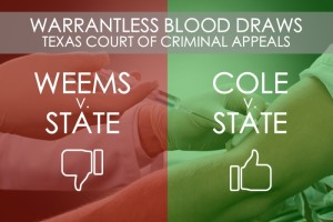 Warrantless Blood Draw DWI CCA