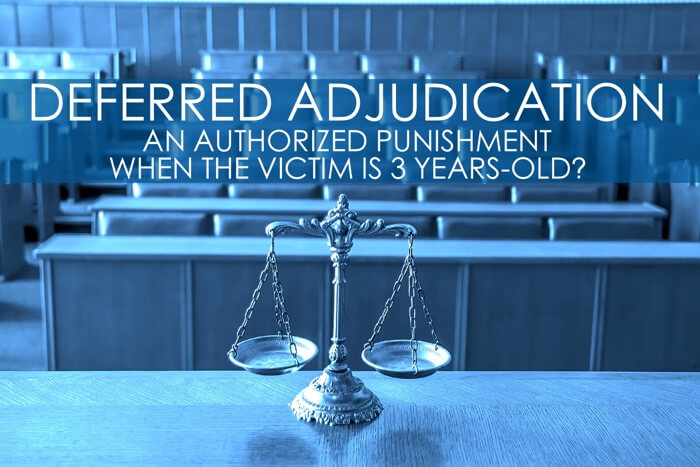 Child Sexual Assault Deferred Adjudication Sentence