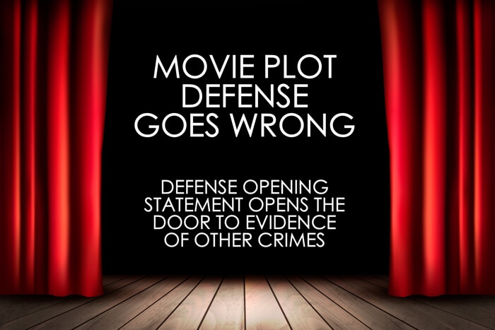 Movie Plot Defense Opens Door 404b