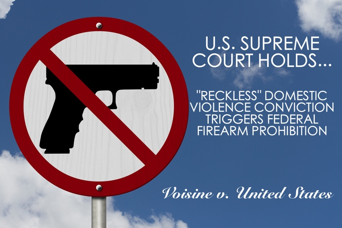 Voisine Reckless Assault Firearm Ban