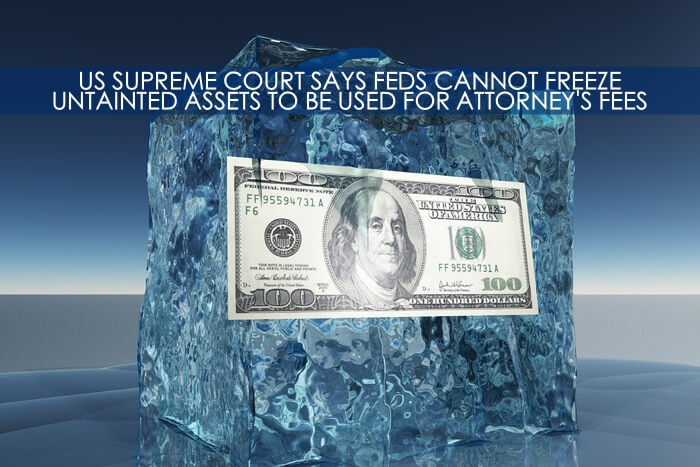Frozen Assets Attorneys Fees
