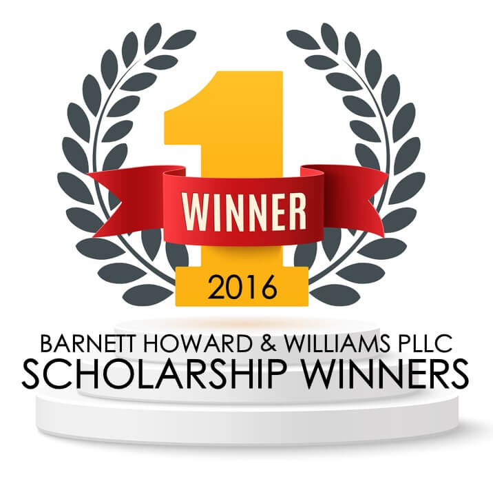 2016 Scholarship Winners BHW