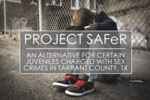 Juvenile Sex Crime Diversion Tarrant County