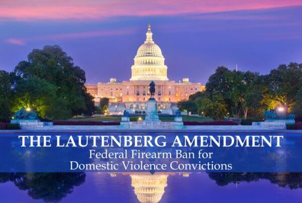 Lautenberg Amendment Federal Gun Ban