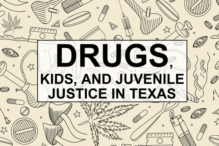 juvenile drug possession texas