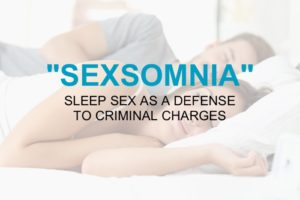 Sexsomnia Sleep Sex