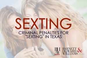 sexting laws texas