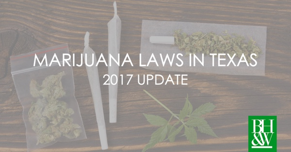 Marijuana Laws in Texas