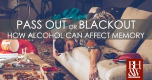 Passout Blackout Alcohol Memory Sexual Assault