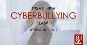 Texas Cyberbullying Law | David's Law