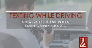 Texting While Driving Law Texas