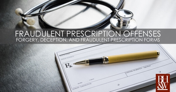 Fraudulent Prescription Forms Texas