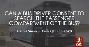 Bus Driver Consent Search Wise 2017