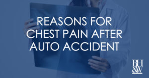 Chest Pain Auto Accident Reasons