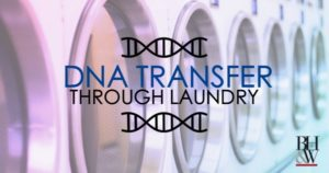 Innocent DNA Transfer in Laundry