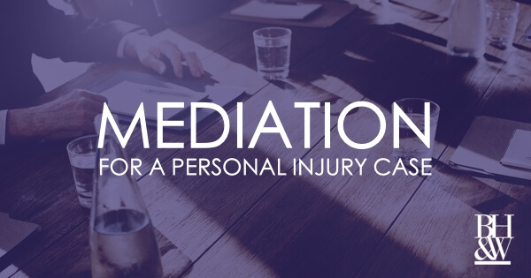 Personal Injury Case Mediation