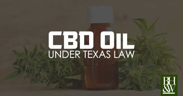 CBD Oil Legal Texas