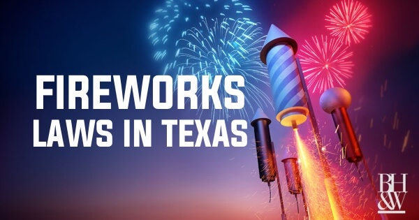 Fireworks Laws in Texas | Could a Sparkler Really Cost You