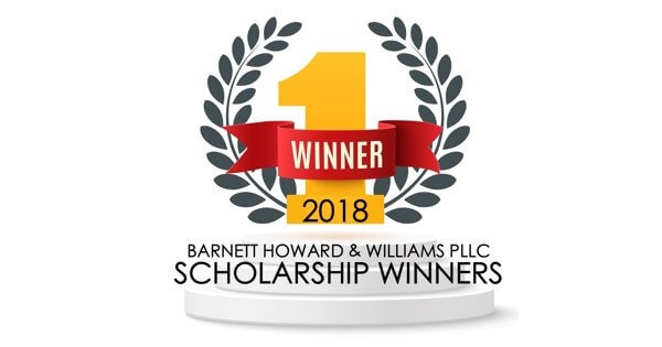 BHW offer two annual scholarships - one for a Military Veteran Law Student, the other for a Military Dependent Undergraduate Student. See who won in 2017!