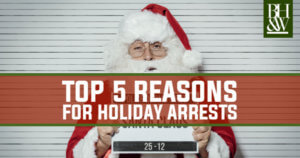Christmas Holiday Arrests Texas