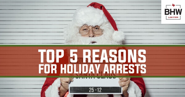 Christmastime Arrests Texas