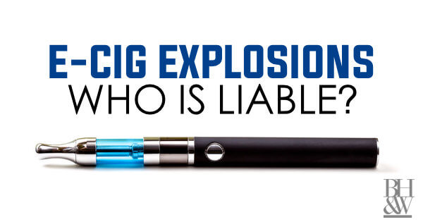 E-Cigarette Exploding Battery Texas
