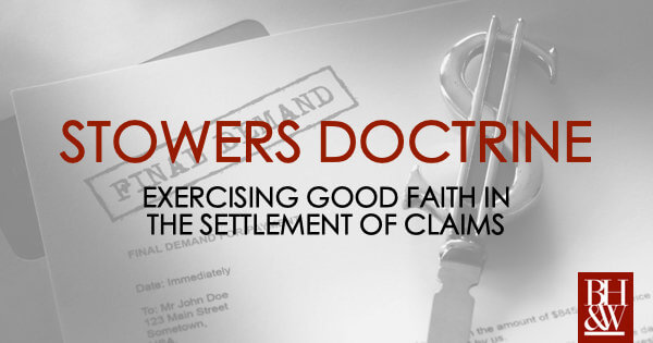 Texas Stowers Doctrine Insurance Settlements