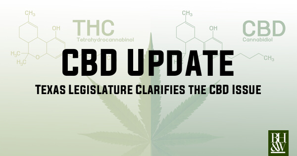 Texas CBD Legal 2019
