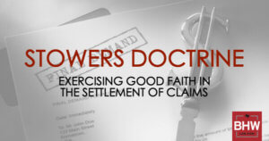 Texas Stowers Doctrine Insurance Settlement
