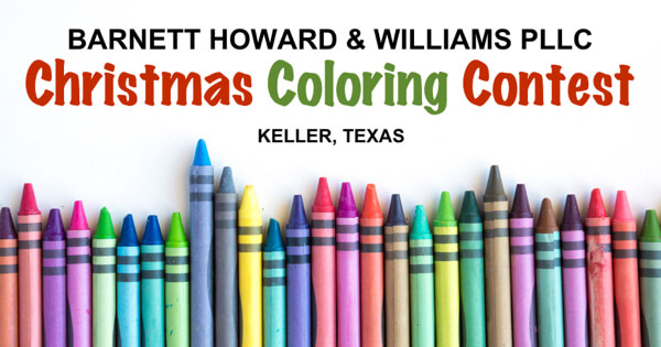 BHW Coloring Contest Keller