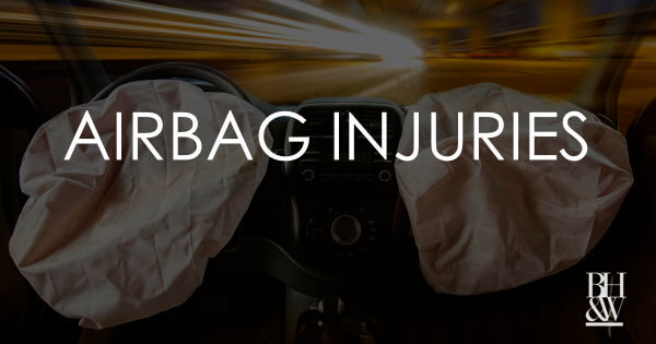 Airbag Injuries Texas