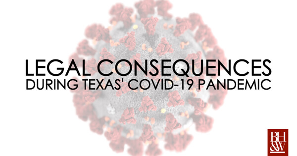 COVID-19 State Orders Texas