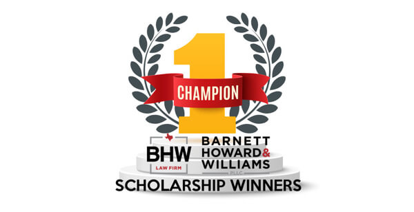 Scholarship Winners BHW